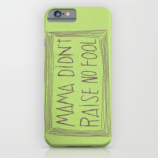 No Fool iPhone & iPod Case