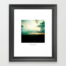 Sunset - Fripp Island South Carolina Framed Art Print