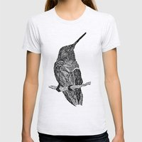 Come With Me  Womens Fitted Tee Ash Grey SMALL