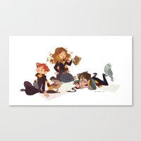 Important Wizarding Canvas Print