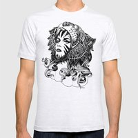 Tigress Mens Fitted Tee Ash Grey SMALL