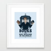 The Best Weapons in the World Framed Art Print