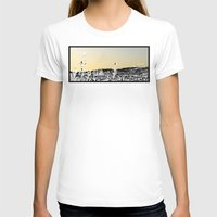 Locals Only - Los Feliz … Womens Fitted Tee White SMALL