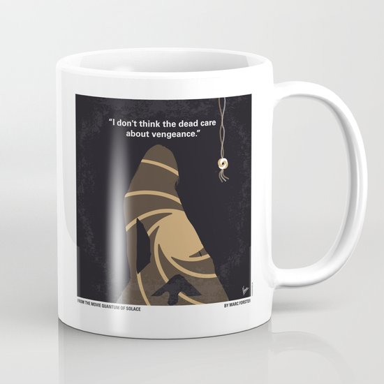 No277-007-2 My Quantum of Solace minimal movie poster Mug