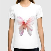 Light Pink Azalea Or Rho… Womens Fitted Tee White SMALL