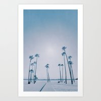 summer dissipation Art Print
