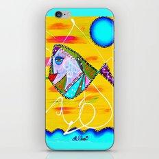 GOLDIE iPhone & iPod Skin