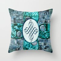 Jackie (#TheAccessoriesSeries) Throw Pillow