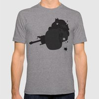 The Dark Knight: Batpod Mens Fitted Tee Athletic Grey SMALL