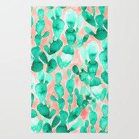 Paddle Cactus Blush Rug