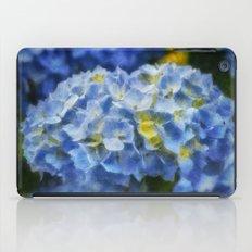 Blue Hydrangea Art iPad Case