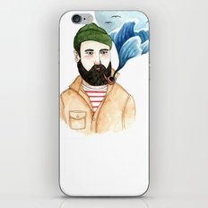 The Sailor and the Sea iPhone & iPod Skin