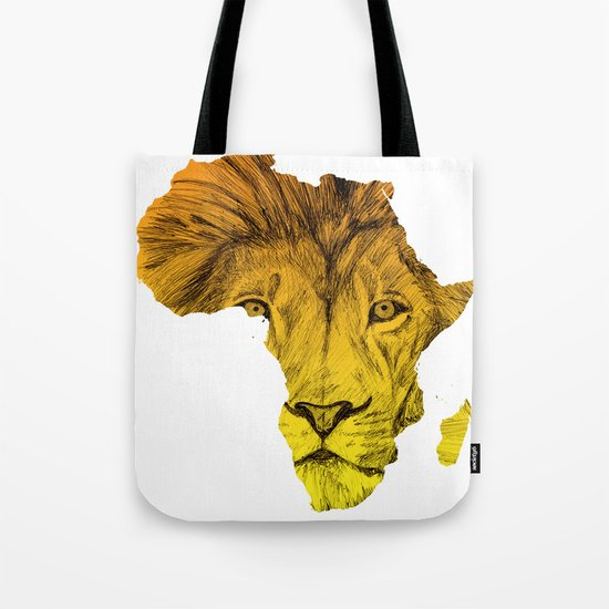 King Of The Jungle! Tote Bag