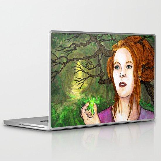 """Through the Woods"" by Cap Blackard Laptop & iPad Skin"