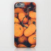 Obligatory Pumpkin Selfie  iPhone 6 Slim Case