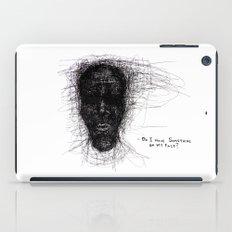 Scribble Face iPad Case