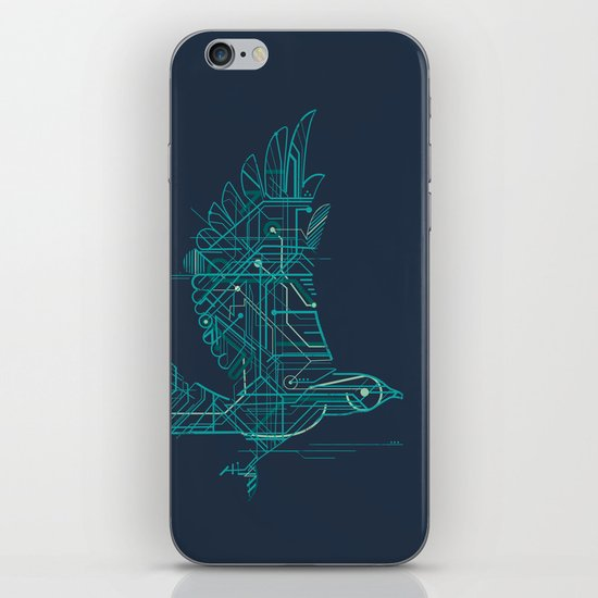 Wind-Up Bird iPhone & iPod Skin