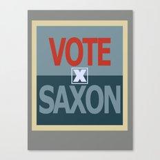 Vote Saxon Canvas Print