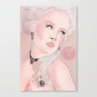 Marie Antoinette (Let Them Eat Cake) Canvas Print