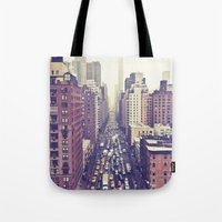 flying over first... (colour) Tote Bag