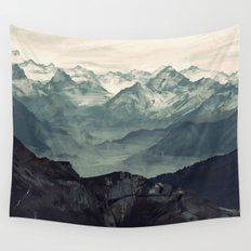 Mountain Fog Wall Tapestry
