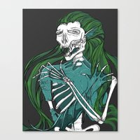 Dead Siren - Hold on Tight Canvas Print