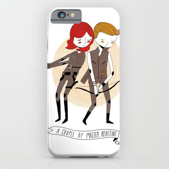 A Couple of Master Assassins iPhone & iPod Case