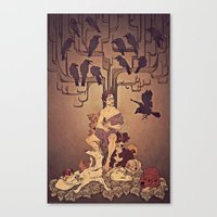 Meditations On Murder - … Canvas Print