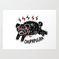 Chupapugra Art Print
