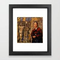 HANBOK I Framed Art Print