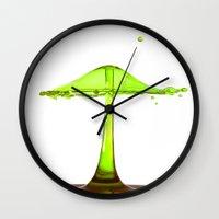 Water mushroom Wall Clock