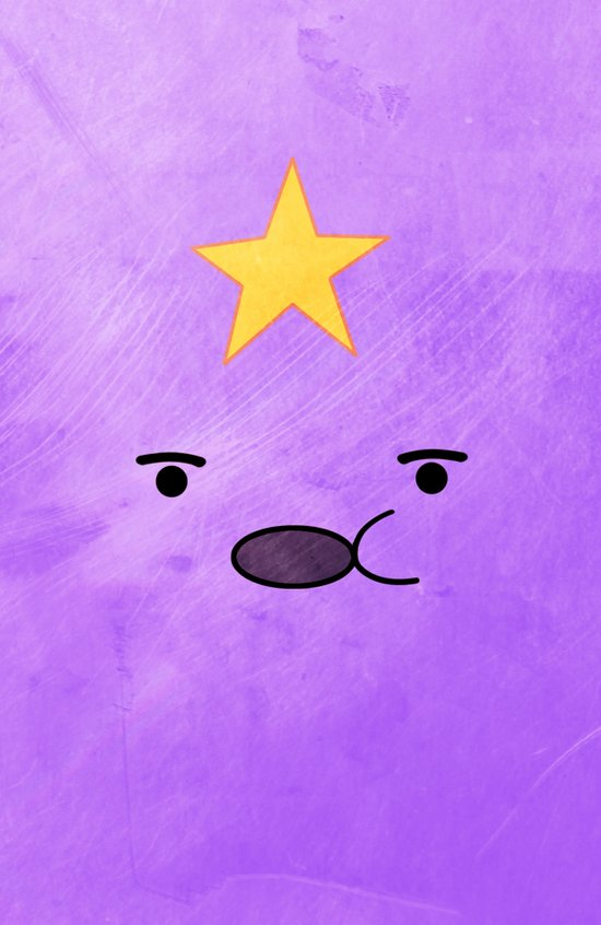 Adventure Time - Lumpy Space Princess Art Print