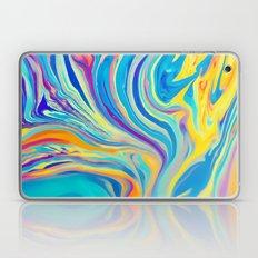 rainbow swirl Laptop & iPad Skin