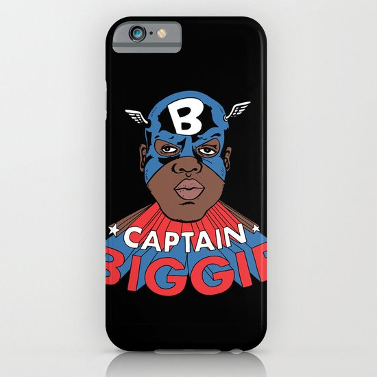 Captain Biggie iPhone & iPod Case