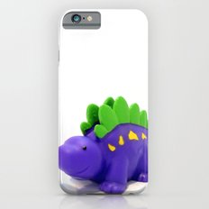 Happy Purple Dinosaur iPhone 6 Slim Case