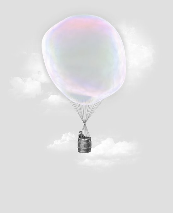 Iridescent Aeronautics Art Print