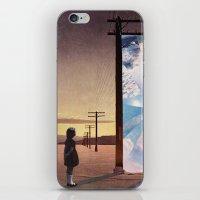 The Broken Window iPhone & iPod Skin