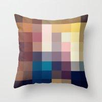 Nature Pixels No 3 Throw Pillow