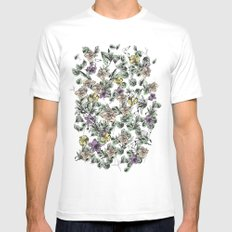 Paradise lost SMALL Mens Fitted Tee White