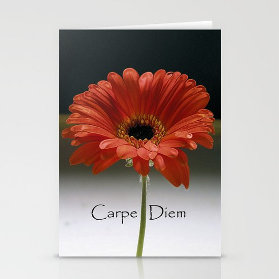 Carpe Diem (for the love of LIFE!) Stationery Card