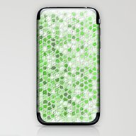 Pattern Mosaic Serie Gre… iPhone & iPod Skin