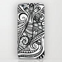 Trumpeting Tangle iPhone & iPod Skin