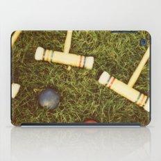 Croquet iPad Case
