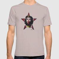 Mc Che Guevara, Eusebio … Mens Fitted Tee Cinder SMALL
