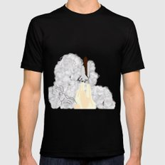 Shuttle Launch Mens Fitted Tee Black SMALL