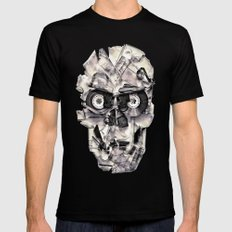 Home Taping Is Dead Mens Fitted Tee Black SMALL