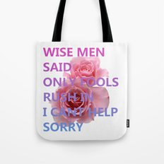 WISEMENSAID Tote Bag