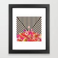 Floraline Framed Art Print