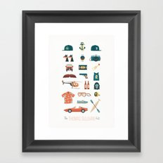 The Thomas Sullivan Kit Framed Art Print