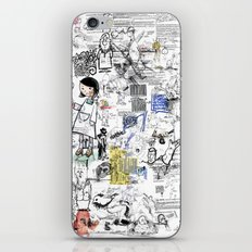 Sketches iPhone & iPod Skin